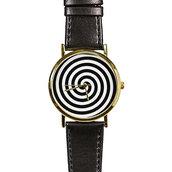 jewels,watch,handmade,style,fashion,vintage,etsy,freeforme,swirl,black and white