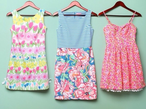 dress flowers rainbow multicolor multicolored dress sundress yellow tumblr fashion girl strapless