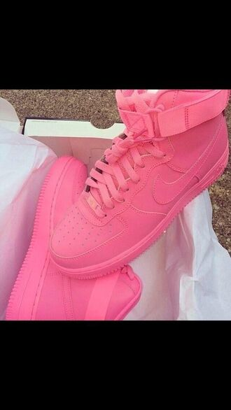 shoes pink jordans sneakers high top