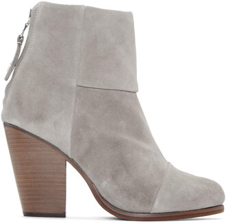 classic boots suede grey shoes