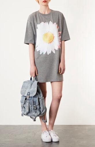 dress daisy denim bag backpack summer bag