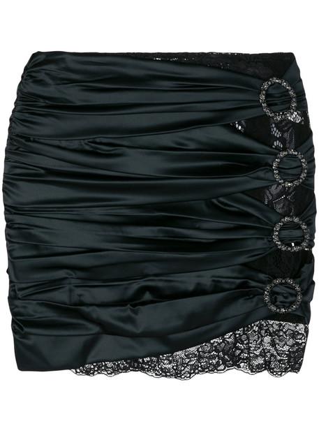 Faith Connexion skirt short women spandex lace black