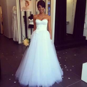dress wedding dress white dress prom prom dress ball gown dress evening dress starry night