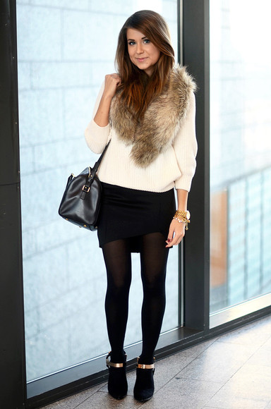 skirt mariannan sweater shoes bag jewels t-shirt