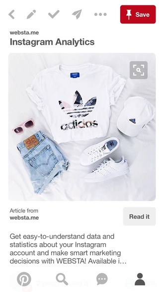 shirt adidas white everything love this whole outfit