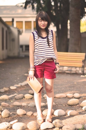 daily disguise tank top shorts bag shoes jewels