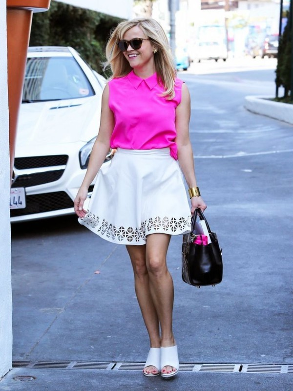 skirt reese witherspoon bag