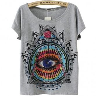 t-shirt cool grey fashion style teenagers summer eye boogzel
