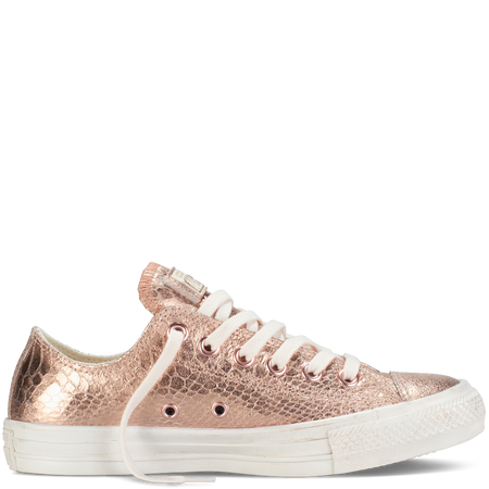 converse rose metallic
