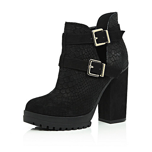 suede cut out ankle boots | Gommap Blog