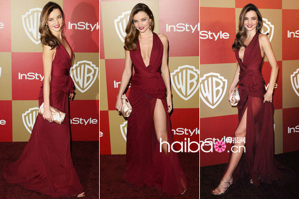 dress long dress fashion celebrity style miranda kerr red dress