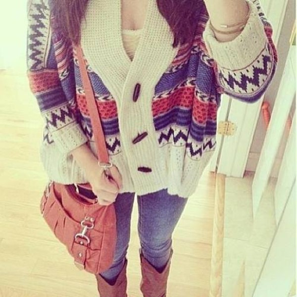 sweater knitted cardigan