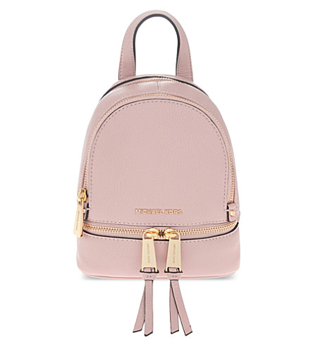 997dd823f738 MICHAEL MICHAEL KORS Rhea extra-small leather backpack