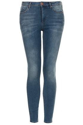 MOTO Vintage Distressed Jamie Jeans - Jamie Skinny Jeans - Jeans  - Clothing - Topshop