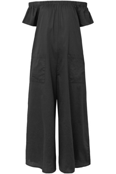 Mara Hoffman jumpsuit cotton black