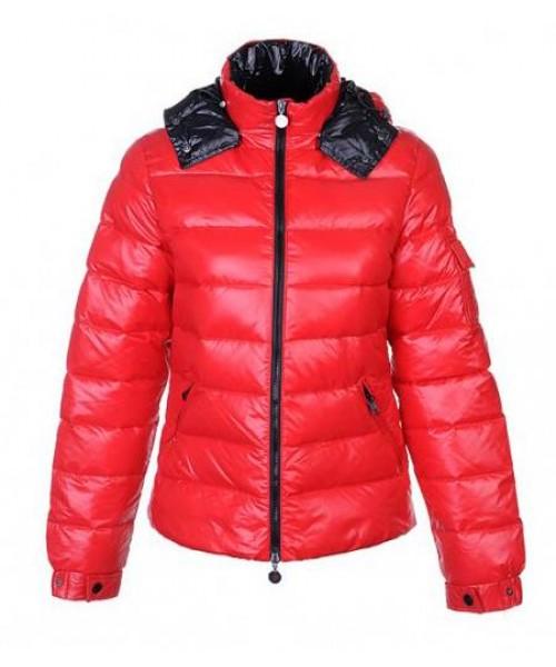 Moncler Jacket Women Discount Red Bj130419