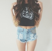 underwear,shorts,t-shirt,skirt,shirt,denim,High waisted shorts