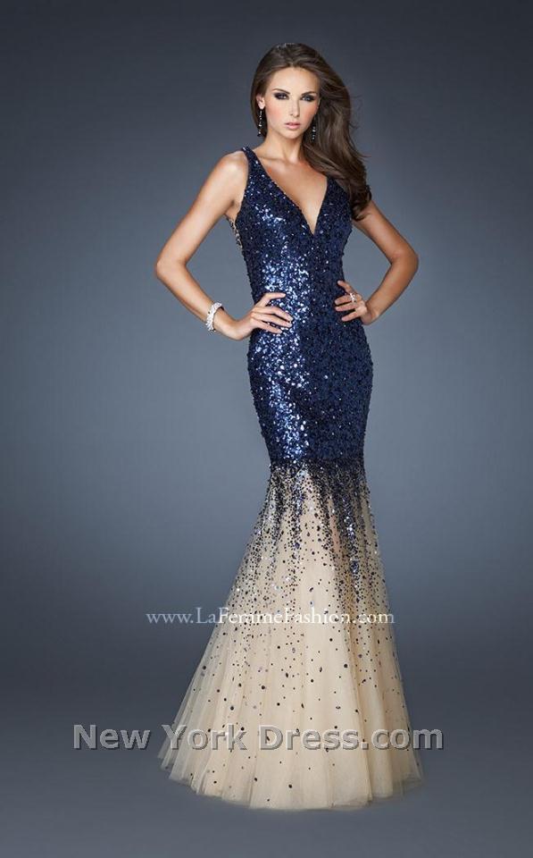 La Femme 19097 Dress - NewYorkDress.com