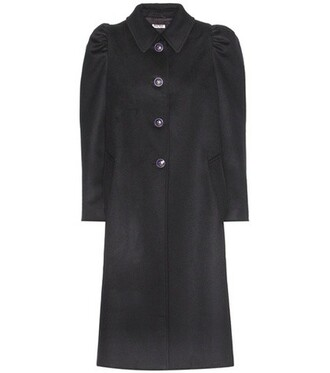 coat wool coat wool blue