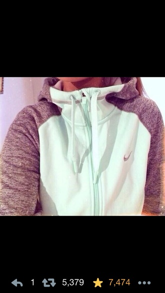 sweater jacket mint grey nike grey and mint nike zip hoodies nike mint and grey zip up hoodie e