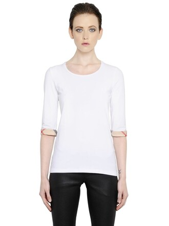 t-shirt shirt cotton white top