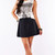 Cotton Skater Skirt - Black | Affordable Junior Clothing & Plus Sized Dresses | Shimmer