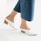 Leather mule shoes - view all-shoes-woman | zara united states