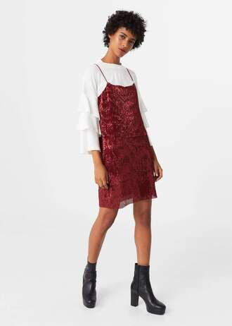 dress sequin dress slip dress