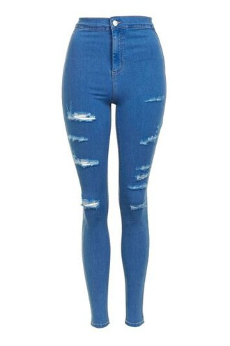 jeans blue bright