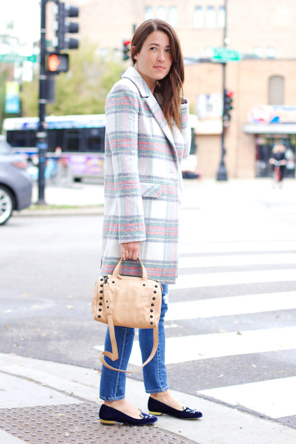 sequins and stripes blogger jeans bag jewels