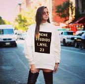 coat,acne studios,letter,hoodie,sweart,sweashirt