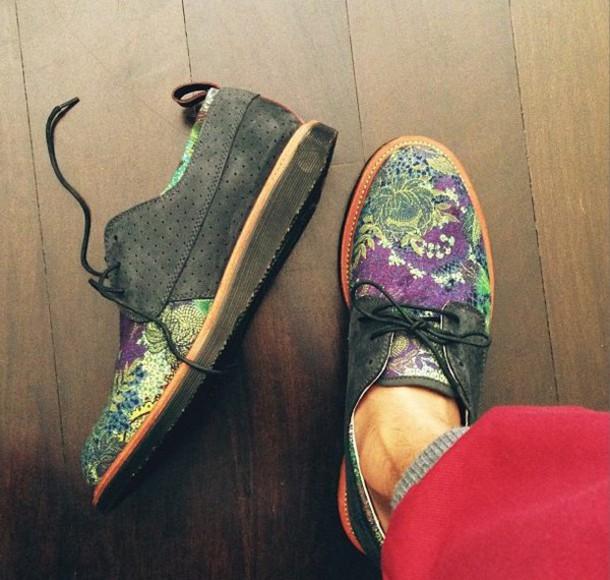 shoes purple shoes green shoes menswear mens shoes