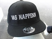 cap,vas happenin,black,hat