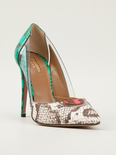 Aquazzura 'posh' Pump - Apropos The Concept Store - Farfetch.com