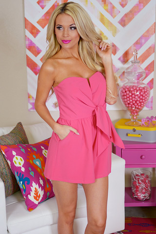 Sweetheart romper