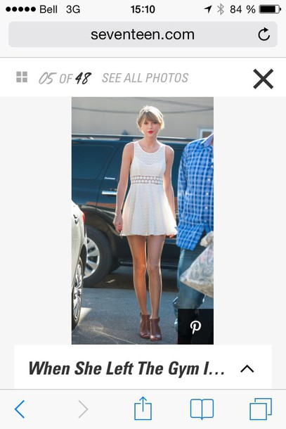 dress taylor swift dress taylor swift white dress