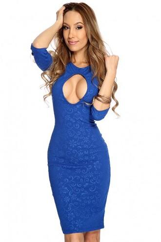 dress blue dress sexy dress holiday dress christmas dress winter dress winter apperal