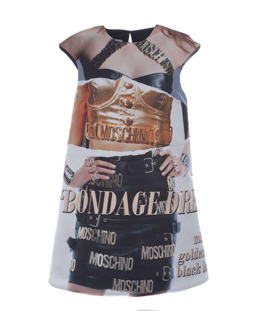 dress printed dress multicolor