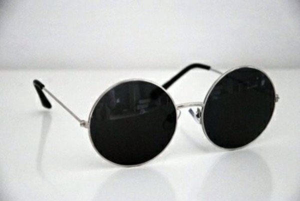 sunglasses black and white round sunglasses