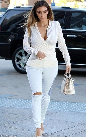 jeans kim kardashian shirt