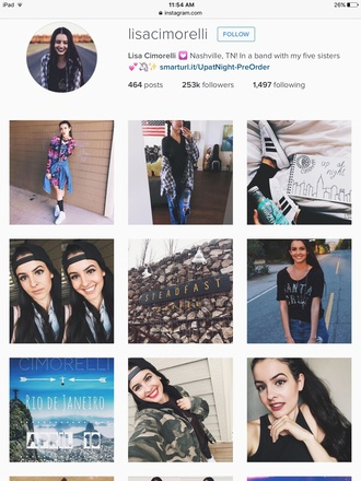 jacket black and white flannel flannel black white lisa cimorelli celeb instagram cute tumblr usa jeans ripped ripped jeans
