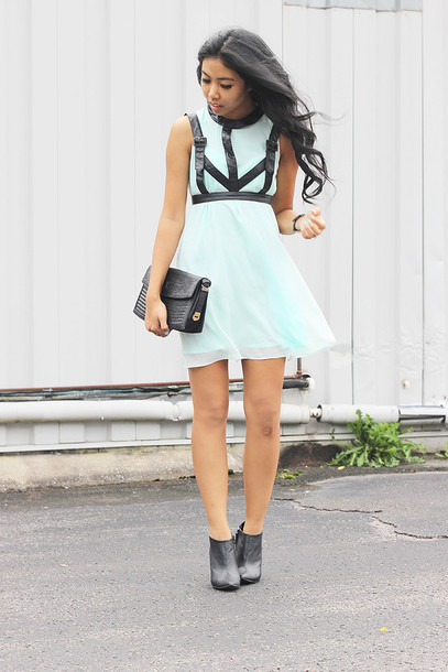 e9d937638dc belt leather black black dress the cherry blossom girl