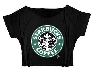 top sailor moon starbucks coffee funny shirt coffee anime shirt crop tops crop cropped crop tee cropped tee movie mermaid shirt disney princess disney