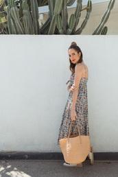 dress,tumblr,midi dress,floral,floral dress,summer,summer dress,summer outfits,bag,handbag,espadrilles,shoes