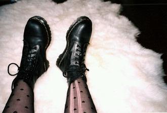 pants tights hearts tights black drmartens