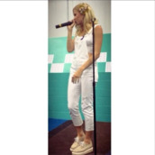 jumpsuit,jumper,spring,capris,indie,classic,classy,soft grunge,white,pixie lott,overalls