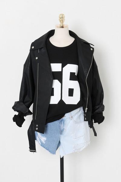 Rider pu jacket