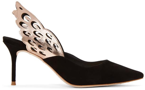 Sophia Webster heels suede black shoes