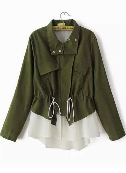 jacket green army green jacket parka army green wish