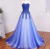 dress,blue dress,purple dress,ombre dress,prom dress,prom beauty